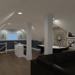 Computer Aided Design of an Attic in Totowa NJ (12)-Design Build Planners