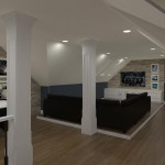 Computer Aided Design of an Attic in Totowa NJ (2)-Design Build Planners