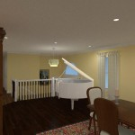 Computer Aided Design of an Attic in Totowa NJ (4)-Design Build Planners