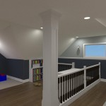 Computer Aided Design of an Attic in Totowa NJ (9)-Design Build Planners