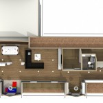Dollhouse Overview of a Attic Design in Totowa NJ