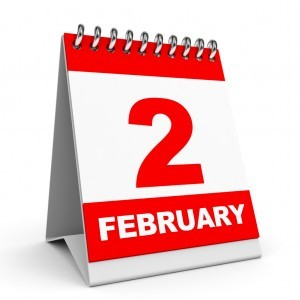 Calendar. 2 February.