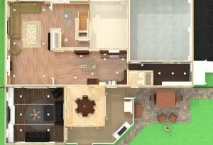 Master Suite, Great Room, Breakfast Room Remodel CAD (26)-Design Build Planners