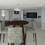 CAD of Bar Area Plan 2 Basement Finishing Options in Warren (1)-Design Build Planners (1)