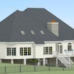 CAD of Exterior in Millstone NJ (1)-Design Build Planners
