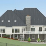 CAD of Exterior in Millstone NJ (2)-Design Build Planners