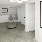 CAD of Laundry Area Plan 2 Basement Finishing Options in Warren (2)-Design Build Planners