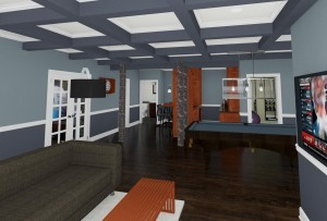 CAD of a Basement in Millstone NJ (3)-Design Build Planners