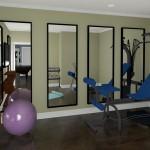 CAD of a Indoor Gym in Millstone NJ (1)-Design Build Planners