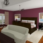 CAD of a Master Bedroom in Millstone NJ (2)-Design Build Planners
