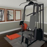 Computer Aided Design of Gym Plan 3 Basement Finishing in Warren NJ (1)-Design Build Planners