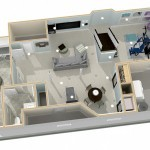 Dollhouse Overview of Plan 2 Basement Finishing in Warren (2)-Design Build Planners (1)