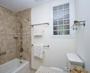 Glass block for bathroom remodeling ~ Design Build Planners (3)