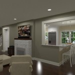Kitchen and Bathroom Remodel in Spring Lake NJ Plan 2 (1)-Design Build Planners