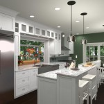 Kitchen and Bathroom  Remodel in Spring Lake NJ Plan 3 (12)-Design Build Planners