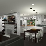 Kitchen and Bathroom  Remodel in Spring Lake NJ Plan 3 (17)-Design Build Planners