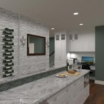 Kitchen and Bathroom in Spring Lake NJ Plan 1 (1)-Design Build Planners