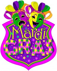 Mardi Gras Masks design