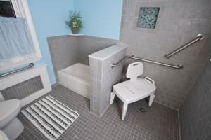 Secure grab bars for bathroom remodeling ~ Design Build Planners