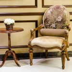 classic style vintage wooden chair