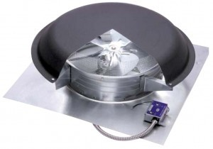 Roof Mounted Power Vent - Installation Instructions