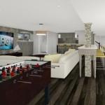 Basement Design Options in Monroe NJ Plan 3 (1)-Design Build Planners
