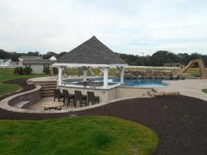 Cabana and Pool Bar in NJ ~ Design Build Planners