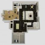 Dollhouse Overview of Basement Design Options in Monroe NJ Plan 3 (1)-Design Build Planners