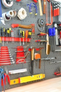 Garage storage and organizing - Design Build Planners