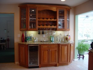 Glazing on kitchen cabinets - Design Build Planners (2)