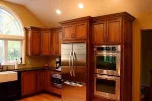 Glazing on kitchen cabinets - Design Build Planners (4)