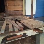 Kitchen Remodel in Rutherford In Progress 3-20-2015 (2)
