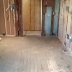 Kitchen Remodel in Rutherford In Progress 4-02-2015 (3)