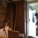 Kitchen Remodel in Rutherford In Progress 5-7-2015 (1)