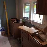 Kitchen Remodel in Rutherford In Progress 5-7-2015 (2)