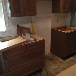 Kitchen Remodel in Rutherford In Progress 5-7-2015 (3)