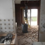 Kitchen and Bathroom Remodel in Spring Lake In Progress 4-21-2015 (1)