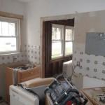Kitchen and Bathroom Remodel in Spring Lake In Progress 4-21-2015 (2)