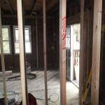 Kitchen and Bathroom Remodel in Spring Lake In Progress 4-28-2015 (1)