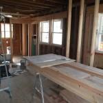 Kitchen and Bathroom Remodel in Spring Lake In Progress 5-4-2015 (10)