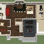 Luxury Basement Designs in NJ Dollhouse Overview-Design Build Planners