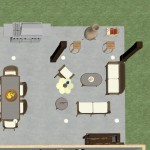 Outdoor Living Space in Morristown NJ Plan 2 Dollhouse Overview (1)-Design Build Planners