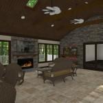 Outdoor Living Space in Morristown NJ Plan 3 (4)-Design Build Planners