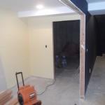 Basement Remodel in Bridgewater NJ In Progress 7-15-15 (11)