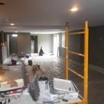 Basement Remodel in Bridgewater NJ In Progress 7-15-15 (15)