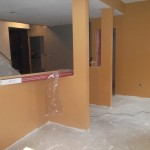 Basement Remodel in Bridgewater NJ In Progress 7-15-15 (19)