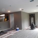 Basement Remodel in Bridgewater NJ In Progress 7-15-15 (4)