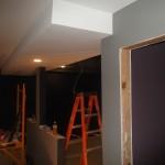 Basement Remodel in Bridgewater NJ In Progress 7-15-15 (6)