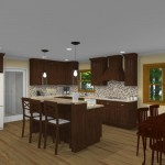CAD of Kitchen, Laundry, Bathroom in Red Bank, NJ (3)