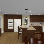 CAD of Kitchen, Laundry, Bathroom in Red Bank, NJ (4)